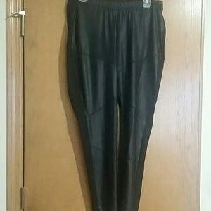 Torrid faux leather leggings size 1